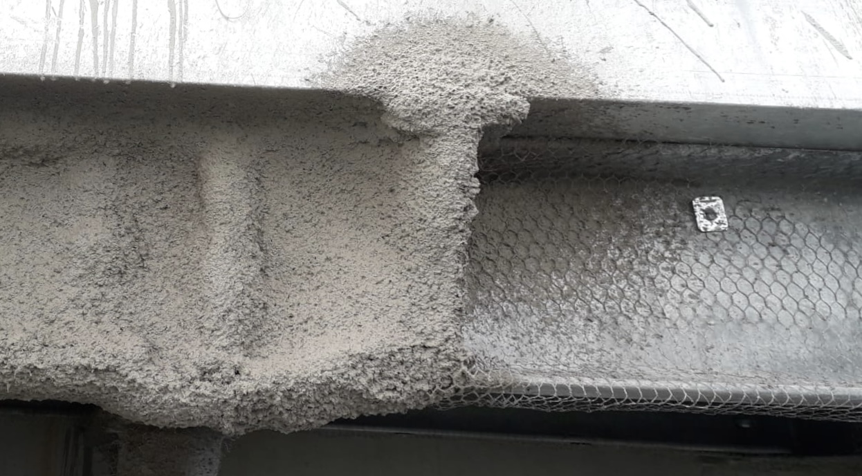 Hydrocarbon Fireproofing Mesh 2
