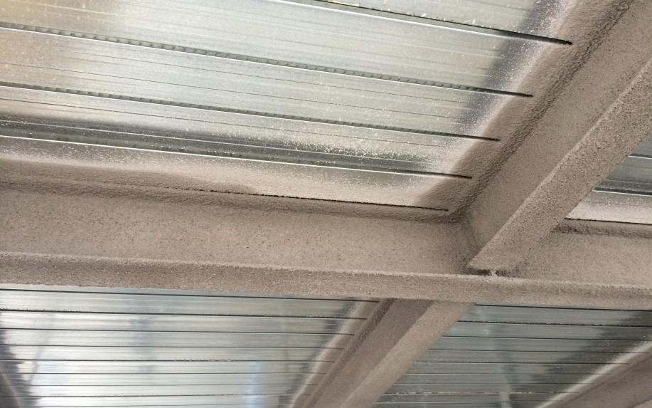 vermiculite Fireproofing finish 2